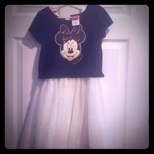 Black and white Minnie Mouse Dress